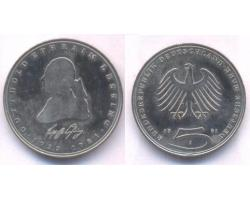 A50752 - NEMAČKA, Federal Republic. 5 DEUTSCHE MARK 1981-J 1