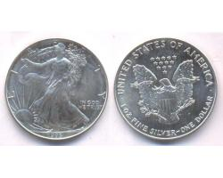 A72805 - USA. 1 OZ. FINE  SILVER DOLLAR 1993 1