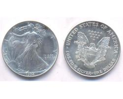 A72806 - USA. 1 OZ. FINE  SILVER DOLLAR 1994 1