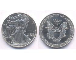 A72809 - USA. 1 OZ. FINE  SILVER DOLLAR 1997 1