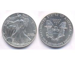 A72811 - USA. 1 OZ. FINE  SILVER DOLLAR 1999 1