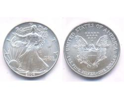 A72816 - USA. 1 OZ. FINE  SILVER DOLLAR 2004 1
