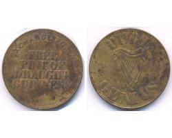 C59082 - IRELAND. A DRAUGHT GUINNESS token for 1 PINT 1