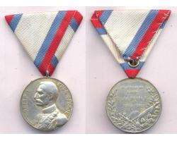 G01405 - COMMEMORTIVE MEDAL FOR THE ELECTION OF KING PETER I, 19 1