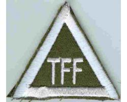 "H73886 - Patch of the ""TFF\"" 1"